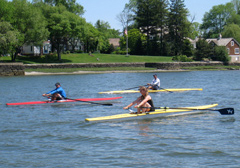 Open Water Recreational Rowing for Health and Fitness